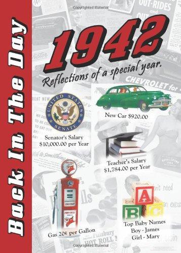 Back in the Day Almanac 1942