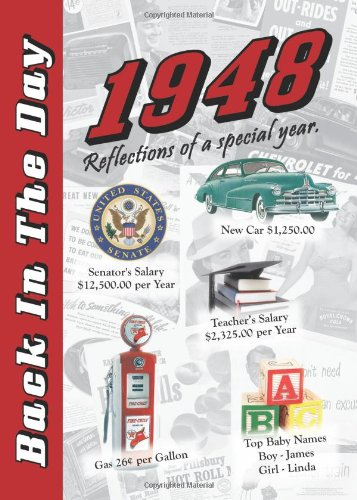 9781939380081: 1948 Back In The Day Almanac -- 24-page Booklet / Greeting Card