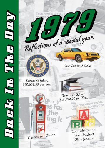 9781939380395: 1979 Back In The Day Almanac -- 24-page Booklet / Greeting Card