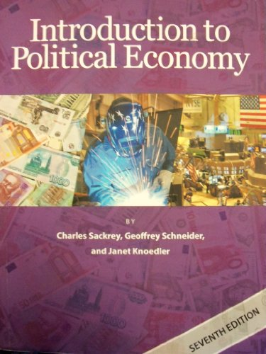 Introduction to political economy sackrey