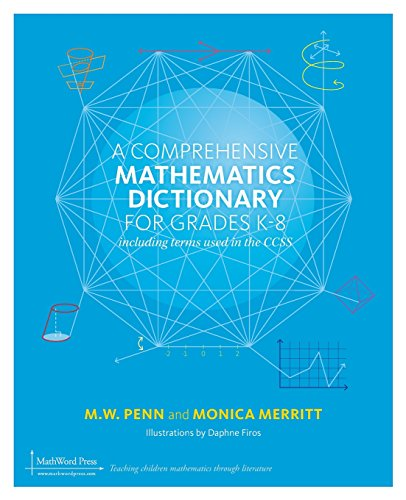 9781939431080: A Comprehensive Mathematics Dictionary for Grades K-8
