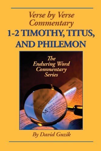 9781939466211: 1-2 Timothy, Titus, Philemon