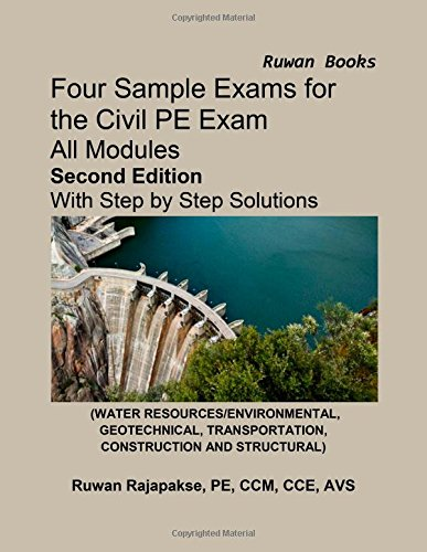 9781939493057: Four Sample Exams for the Civil PE Exam, Second Edition