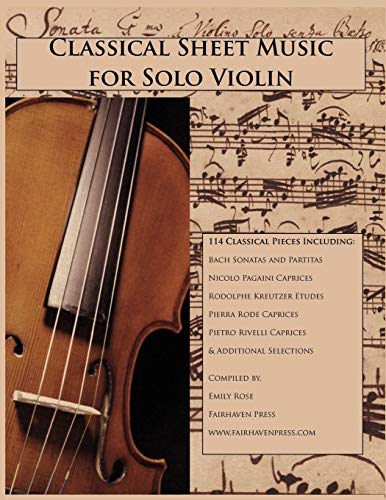 9781939497024: Classical Sheet Music for Solo Violin