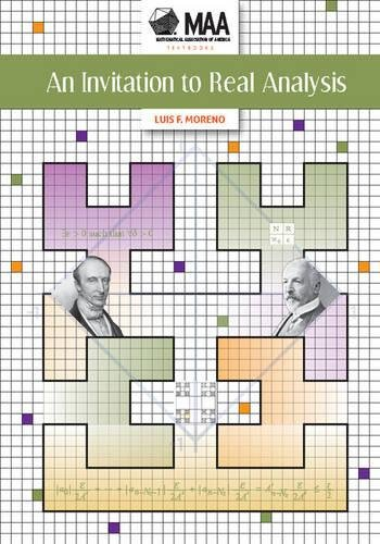 9781939512055: An Invitation to Real Analysis (Maa Textbooks)