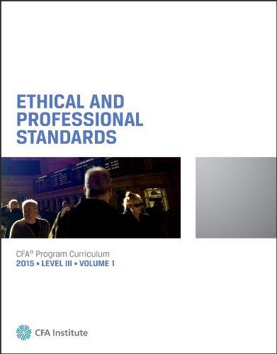 2015 CFA Program Curriculum Level III Volume: Wiley