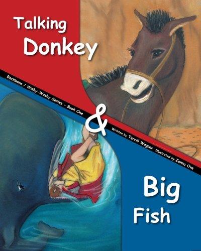 Talking Donkey & Big Fish: Real Stories From the Bible (Backbone / Wishy-Washy Series) (...
