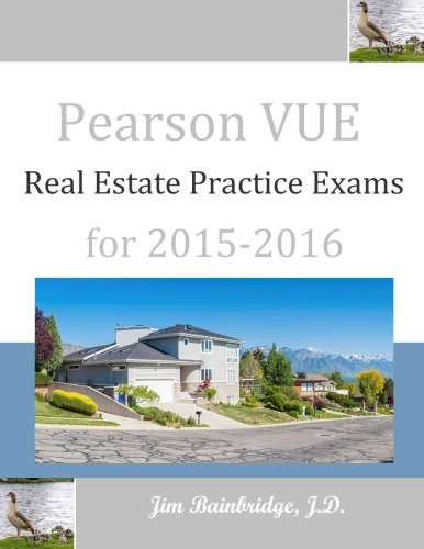 9781939526168: Pearson VUE Real Estate Practice Exams for 2015-2016