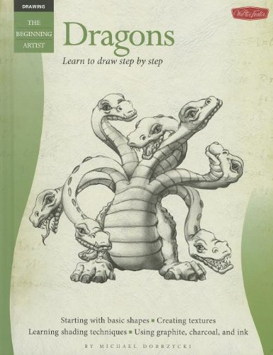 Dragons: Learn to Draw Step by Step: Michael Dobrzycki