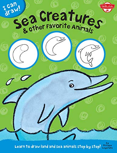 9781939581570: I Can Draw Sea Creatures & Other Favorite Animals: Learn to Draw Land and Sea Animals Step by Step!