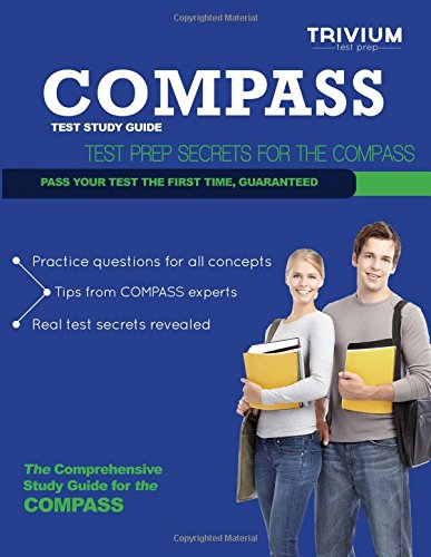 9781939587183: COMPASS Test Study Guide: Test Prep Secrets for the COMPASS