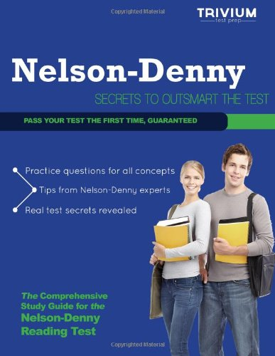 9781939587411: Nelson Denny Reading Test Study Guide: Secrets to Outsmart the Exam