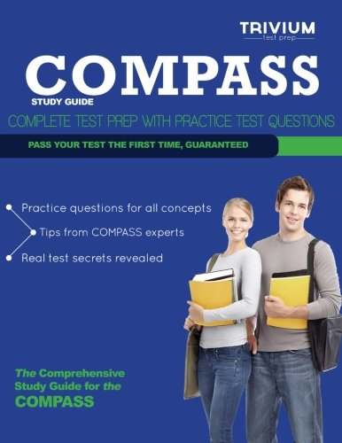 9781939587619: Compass Study Guide: Complete Test Prep with Practice Test Questions