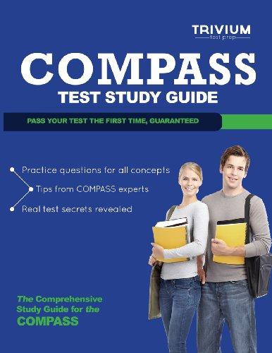9781939587718: Compass Test Study Guide (Trivium Test Prep Study Guides)