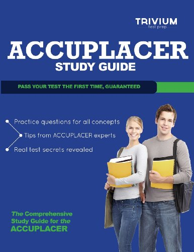 9781939587725: Accuplacer Study Guide