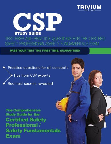 9781939587947: CSP Study Guide: Test Prep and Practice Questions for the Certified Safety Professional Exam