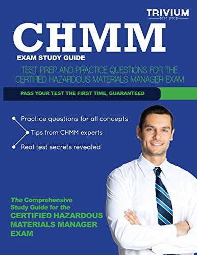 chmm exam study guide test prep and practice questions for the rh abebooks com best chmm study guide chmm examination study guide