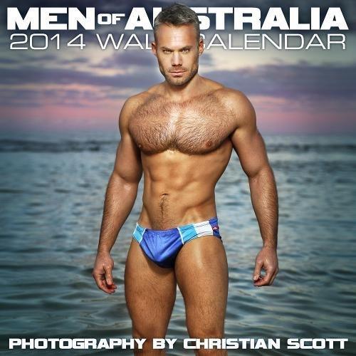 9781939651105: Men of Australia 2014 Wall Calendar