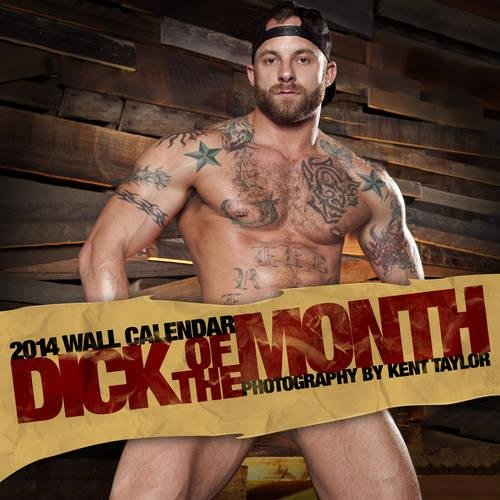 9781939651174: Raging Stallion Studios Dick of the Month 2014 Wall Calendar