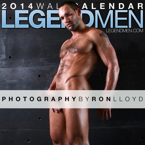 9781939651228: Legend Men 2014 Wall Calendar
