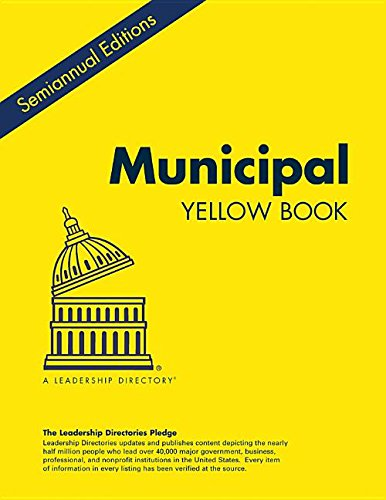 9781939653772: Municipal Yellow Book Winter 2015: Who's Who in the Leading City and County Governments and Local Authorities