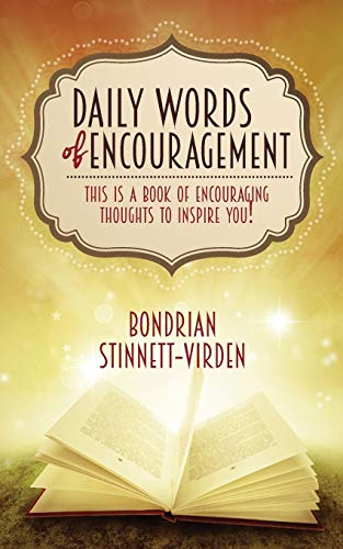 9781939654557: Daily Words of Encouragement
