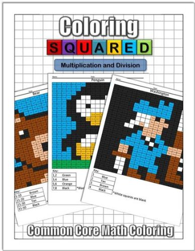 Coloring Squared: Multiplication and Division: Krantzman, Cameron