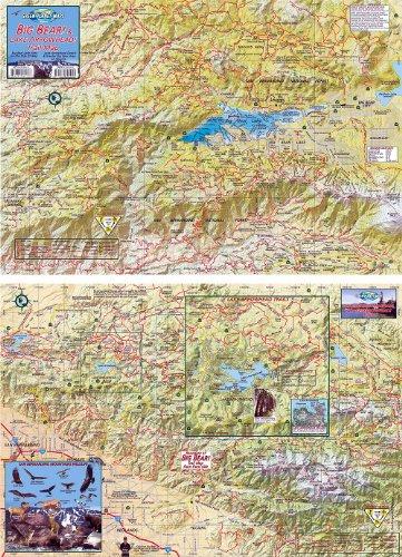 9781939699015: Big Bear and Lake Arrowhead Trails Map