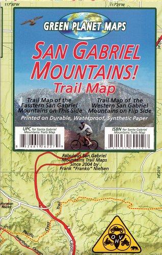 9781939699107: San Gabriel Mountains Trail Map