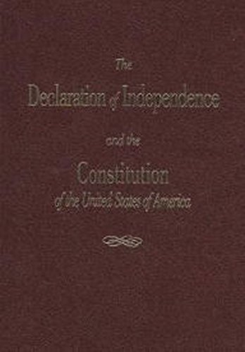 9781939709141: The Declaration of Independence and the Constitution of the United States of America
