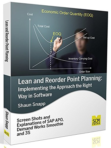 Lean and Reorder Point Planning: Implementing the: Shaun Snapp