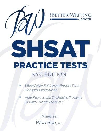 SHSAT Practice Tests: NYC Edition: Suh, Won