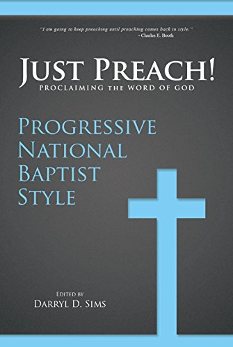 9781939774187: Just Preach: Proclaiming The Word Of God Progressive National Baptist Style