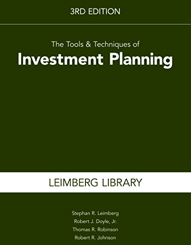 9781939829160: The Tools & Techniques of Investment Planning, 3rd Edition