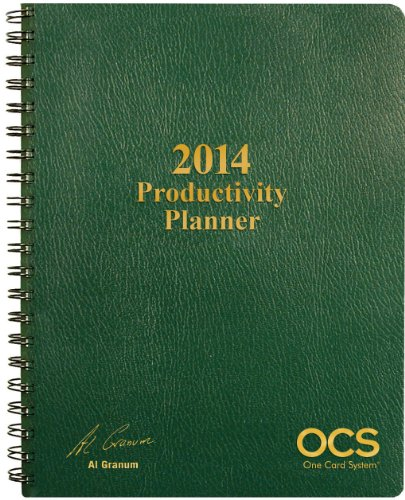 9781939829283: 2014 OCS Productivity Planner (One Card System)