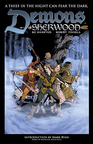 Demons of Sherwood (Paperback): Robert Tinnell, Bo Hampton