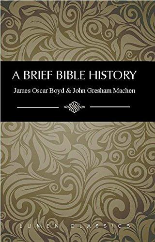 9781939900128: A Brief Bible History (Lumen Classics)