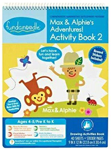 9781939908094: Max & Alphie's Adventures!: Activity Book 2, Comprehensive Handwriting Development Program