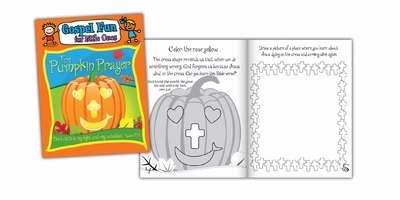 9781940088655: Activity Book - Pumpkin Prayer (Psalm 27:1 NLT) (Gospel Fun For Little Ones)