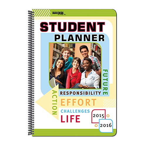 9781940164366: 2015-16 Student Planner - 450D - Dated, Weekly, No Subjects, 5.25 X 8.25