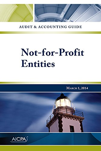 9781940235400: Not-for-Profit Entities - Audit and Accounting Guide