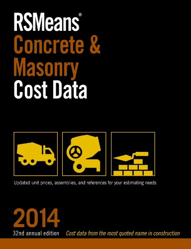 9781940238036: RSMeans Concrete and Masonry Cost Data 2014 (RSMeans Concrete/Masonry Cost Data)