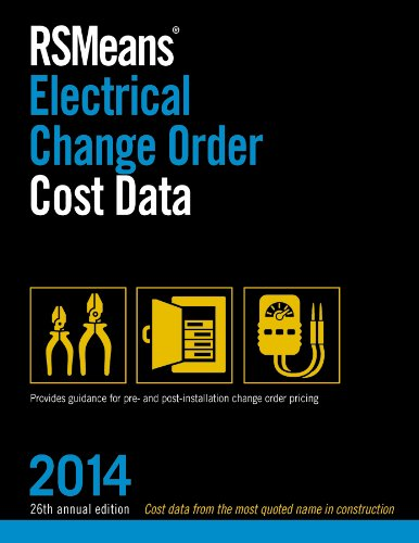 9781940238050: RSMeans Electrical Change Order Cost Data 2014
