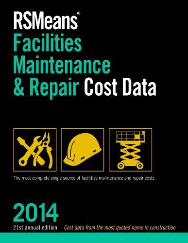 Rsmeans Facilities Maintenance Repair 2014 Facilities