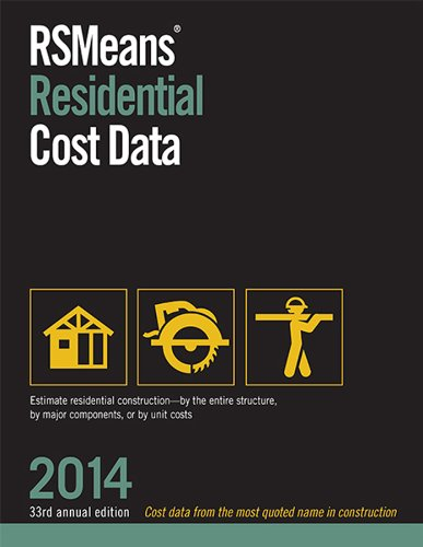 9781940238166: RSMeans Residential Cost Data 2014