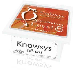 9781940362083: Knowsys Vocab Flashcards Level 6