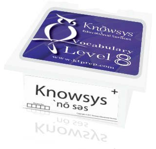 9781940362106: Knowsys Vocab Flashcards Level 8
