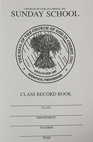 9781940378121: Sunday School Class Record Book