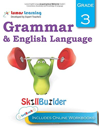 9781940484884: Lumos English Language and Grammar Skill Builder, Grade 3 - Conventions, Vocabulary and Knowledge of Language: Plus Online Activities, Videos and Apps (Lumos Language Arts Skill Builder) (Volume 2)