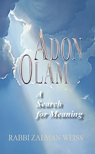 9781940516189: Adon Olam: A Search for Meaning